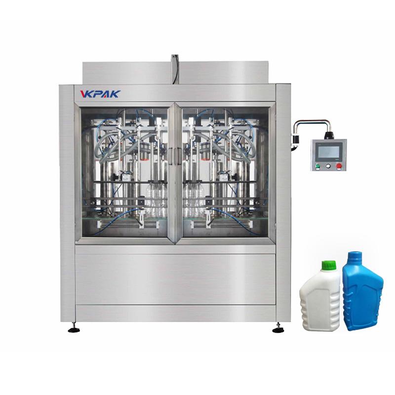 Automaattinen pullojen ja nesteen täyttökone