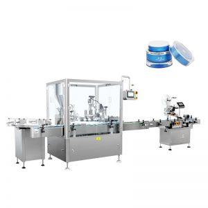 Automaattinen kosteusemulsio täyttö- ja korkinkone
