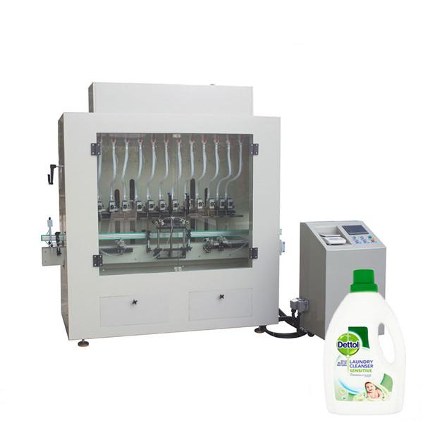 Desinfioiva nestemäinen puhdistusaine pullon täyteaine